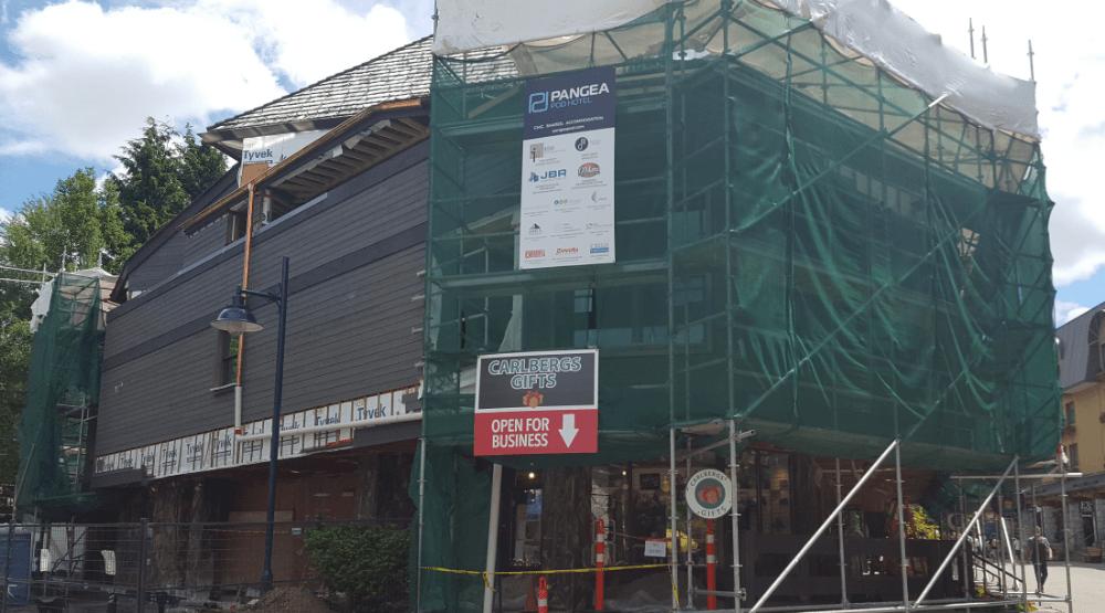 The Pangea Pod hotel currently under construction (Pangea Pod Hotel)
