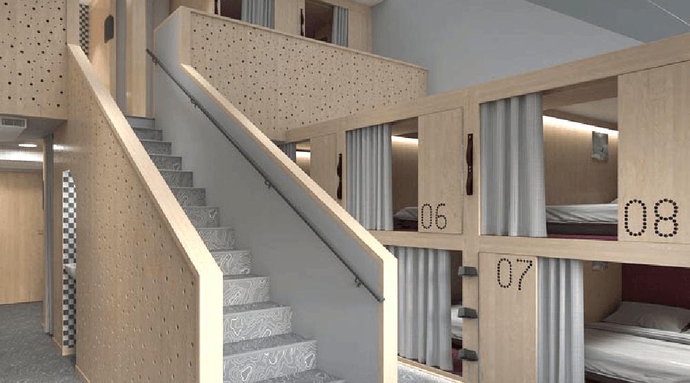Pangea pod hotel rendering1