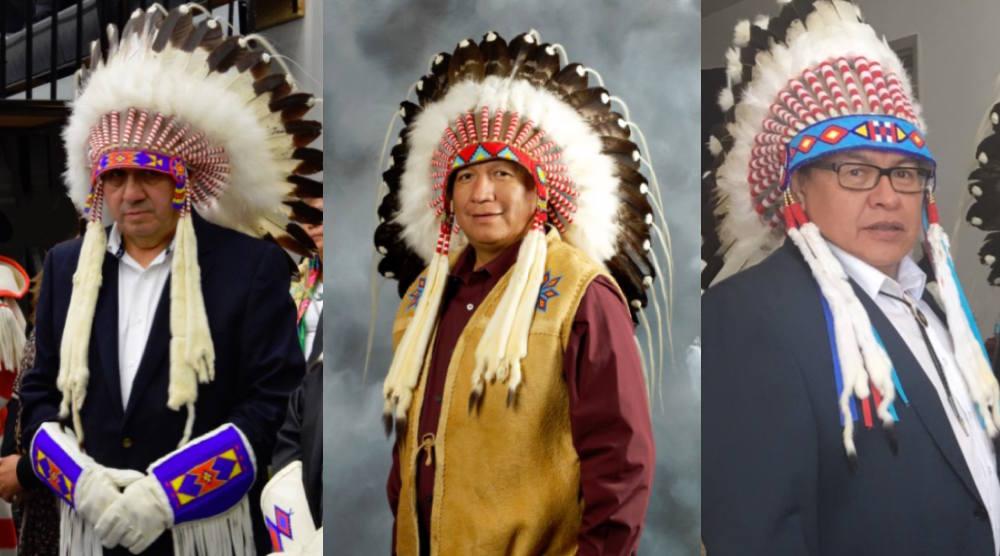 Treaty 7 chiefs