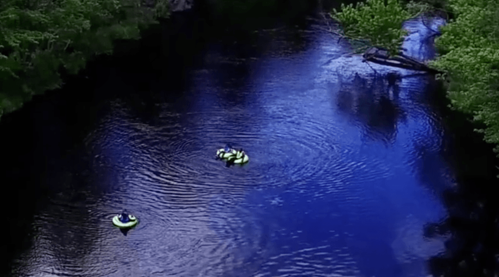 You can go tubing on a natural 'lazy river' just 2 hours from Toronto (VIDEO)