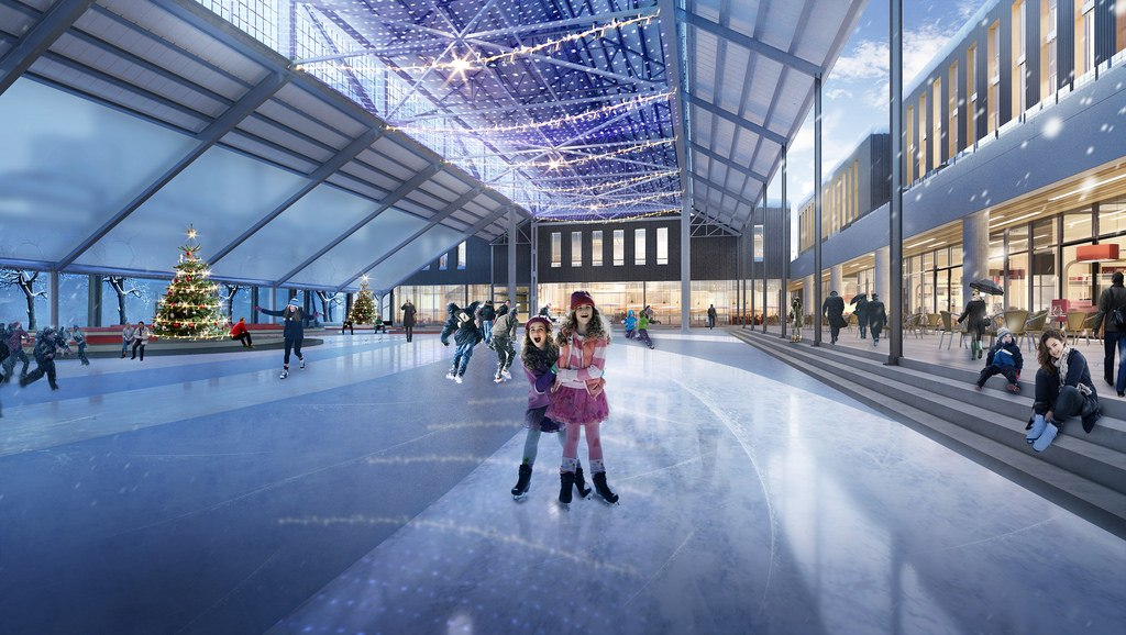 Construction begins on $35-million outdoor ice rink and ...