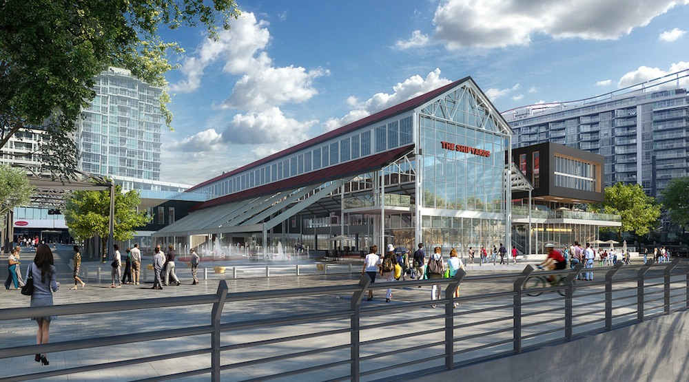 Construction begins on $35-million outdoor ice rink and plaza at Lonsdale waterfront