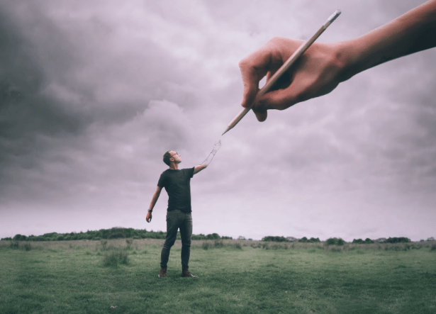 """""""By reaching out to those who care about us, we can be reminded of who we are and that we are more than just the depression or anxiety we may be facing. Our loved ones are able to remind us of who we are as a whole."""" - Joel Robison, conceptual photographer, British Columbia, Canada"""