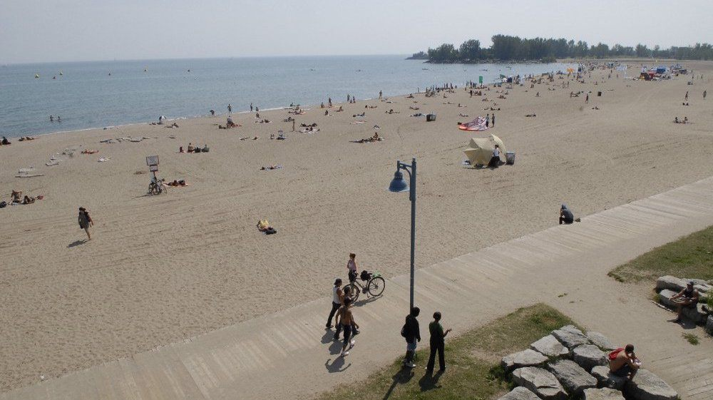 Not one of Toronto's 11 beaches is fully operational yet