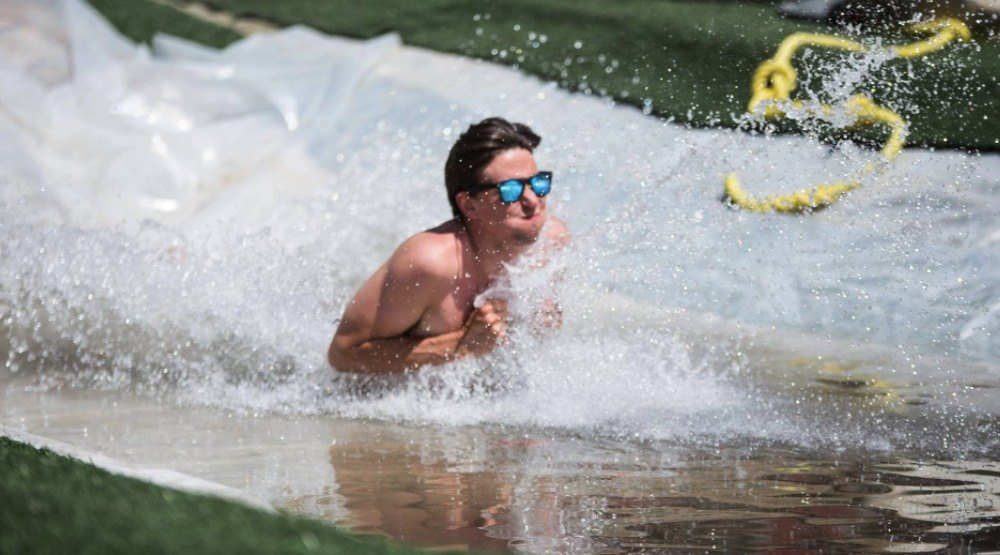 This BC music festival has a Slip N' Slide, food trucks, and epic camping