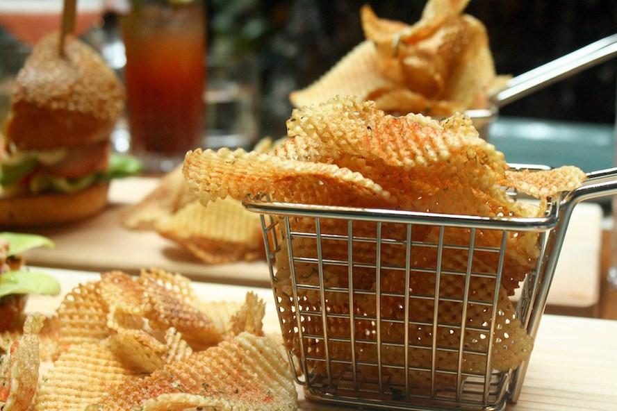 YEW seafood + bar_Hand-cut ketchup waffle fries 2