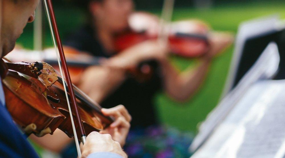 Music in the park shutterstock