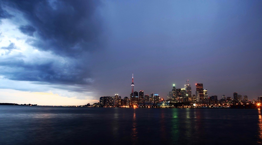 Environment Canada has issued a tornado warning for the City of Toronto