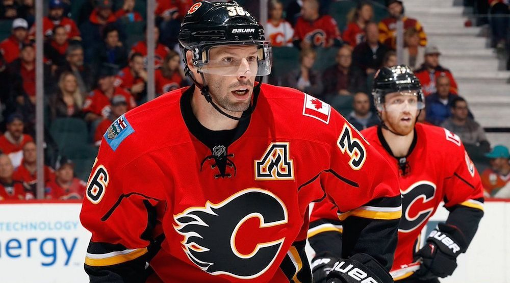 The Calgary Flames are about to buy-out Troy Brouwer's contract