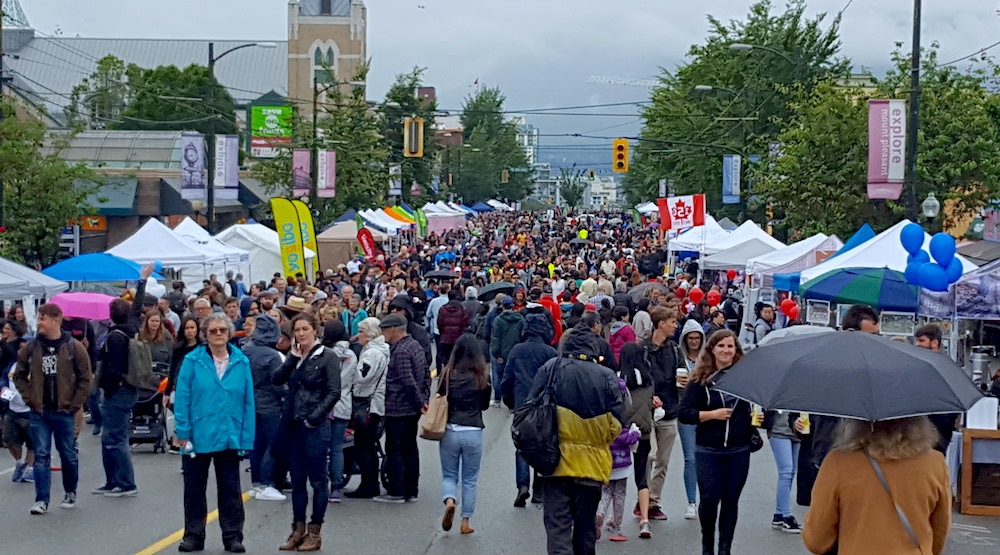 Main street car free day 2017