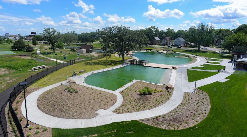 Webber natural swimming pool minneapolis