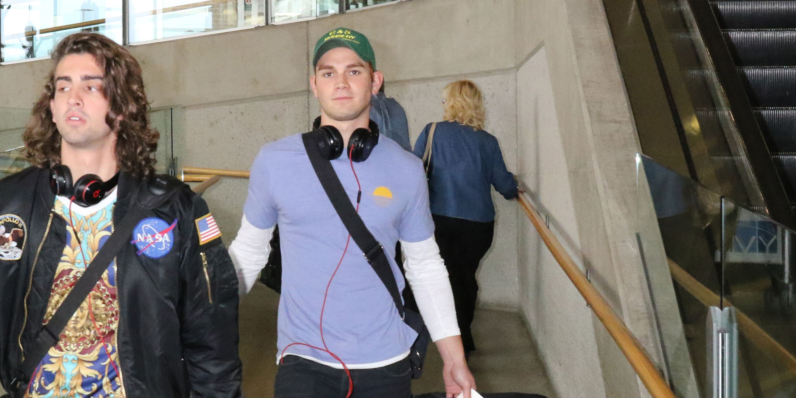 KJ Apa arrives in Vancouver to begin filming 'Riverdale' season 2 (PHOTOS)