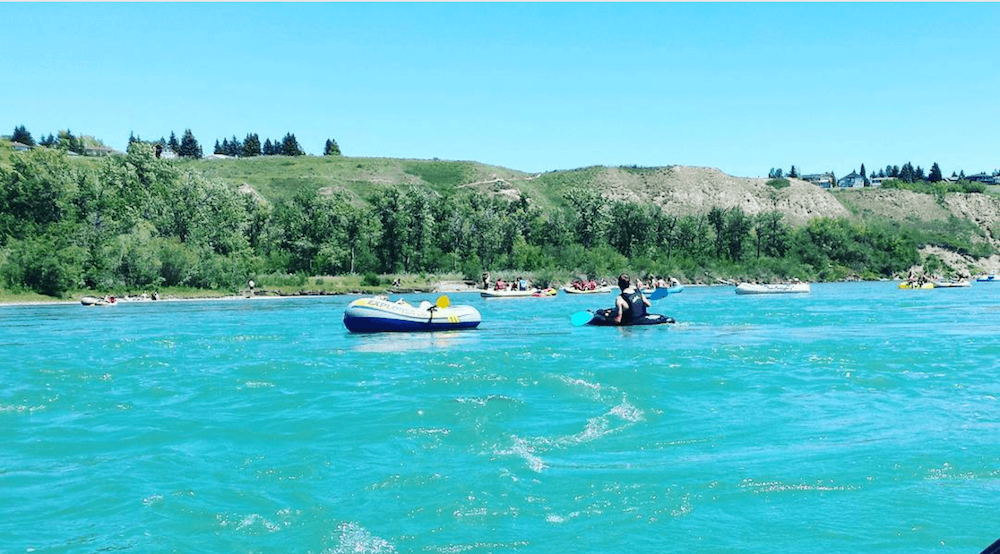 You can now float your way down the Bow River, City advisory lifted