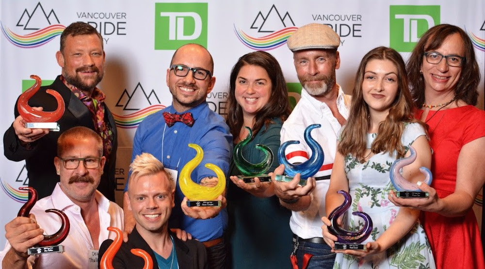 Standout awards vancouver pride