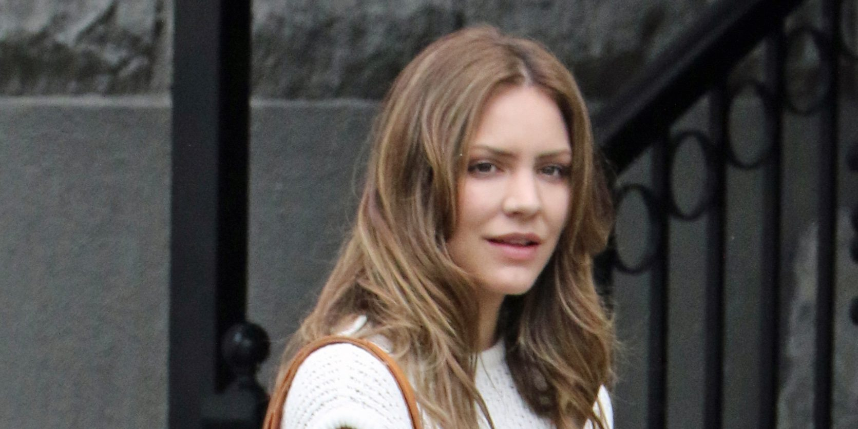 Katharine McPhee wraps up filming 'The Lost Wife of Robert Durst' in Vancouver (PHOTOS)