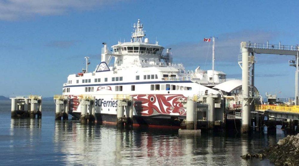 New BC Ferries vessel begins service between Tsawwassen and Gulf Islands