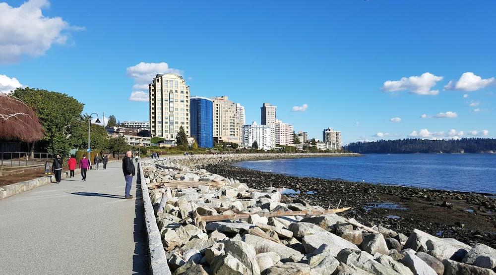 West vancouver centennial seawalk