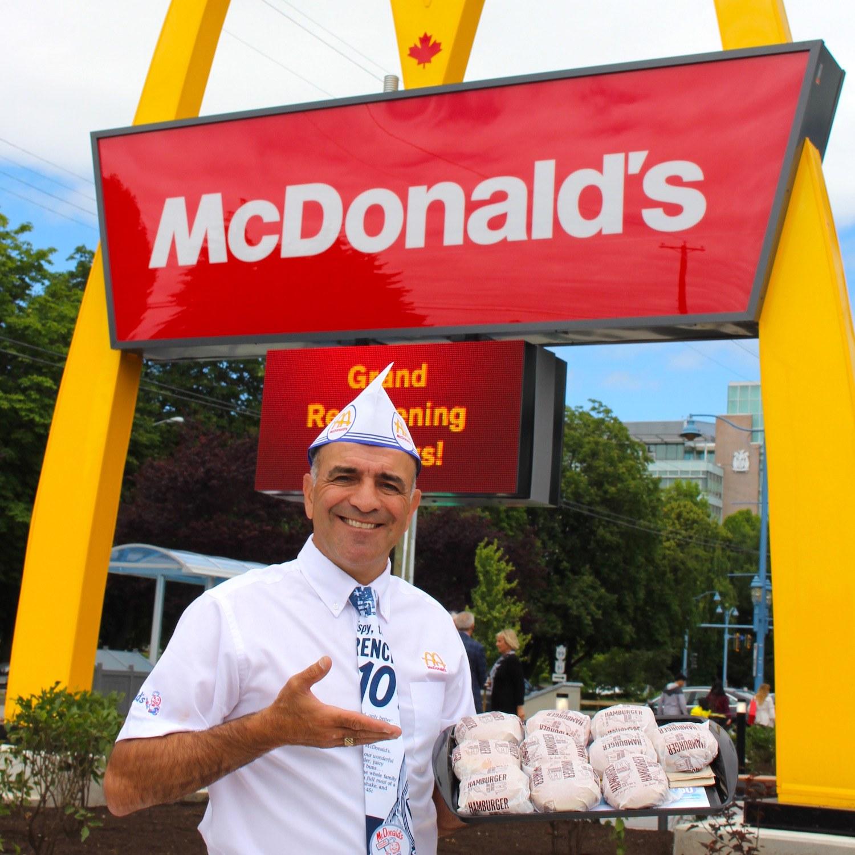 Get 67-cent Hamburgers At McDonald's First Canadian