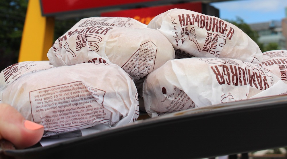 Get 67-cent hamburgers at McDonald's first Canadian location this Friday