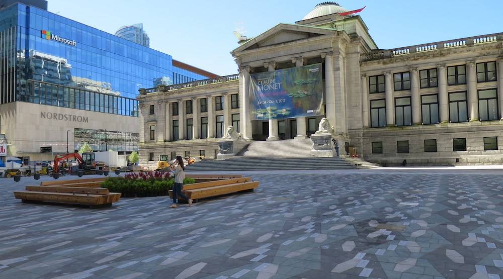 New $9.6-million Vancouver Art Gallery plaza opens (PHOTOS)