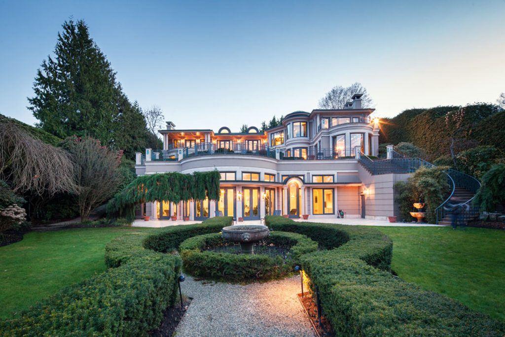 Billionaire Joe Segal S 63 Million Vancouver Mansion For