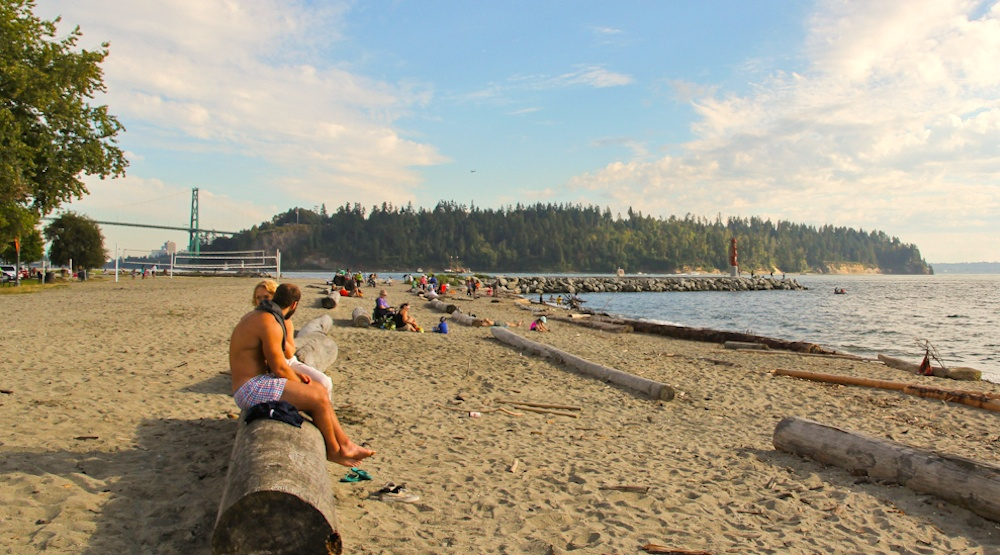 Ambleside beach west vancouver