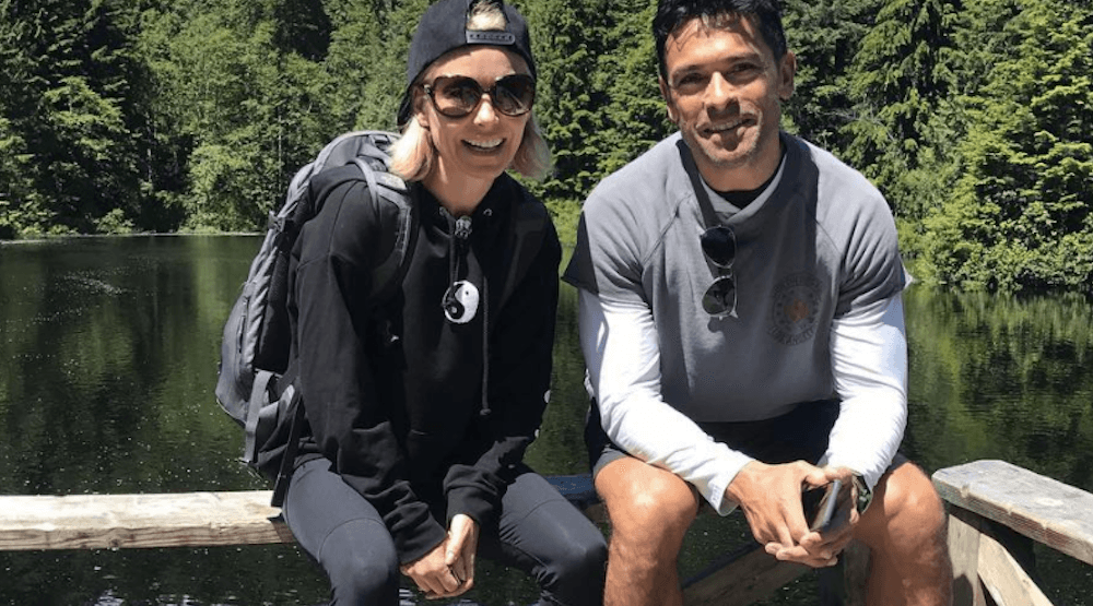 Kelly Ripa is in Vancouver and she's loving it (PHOTOS)