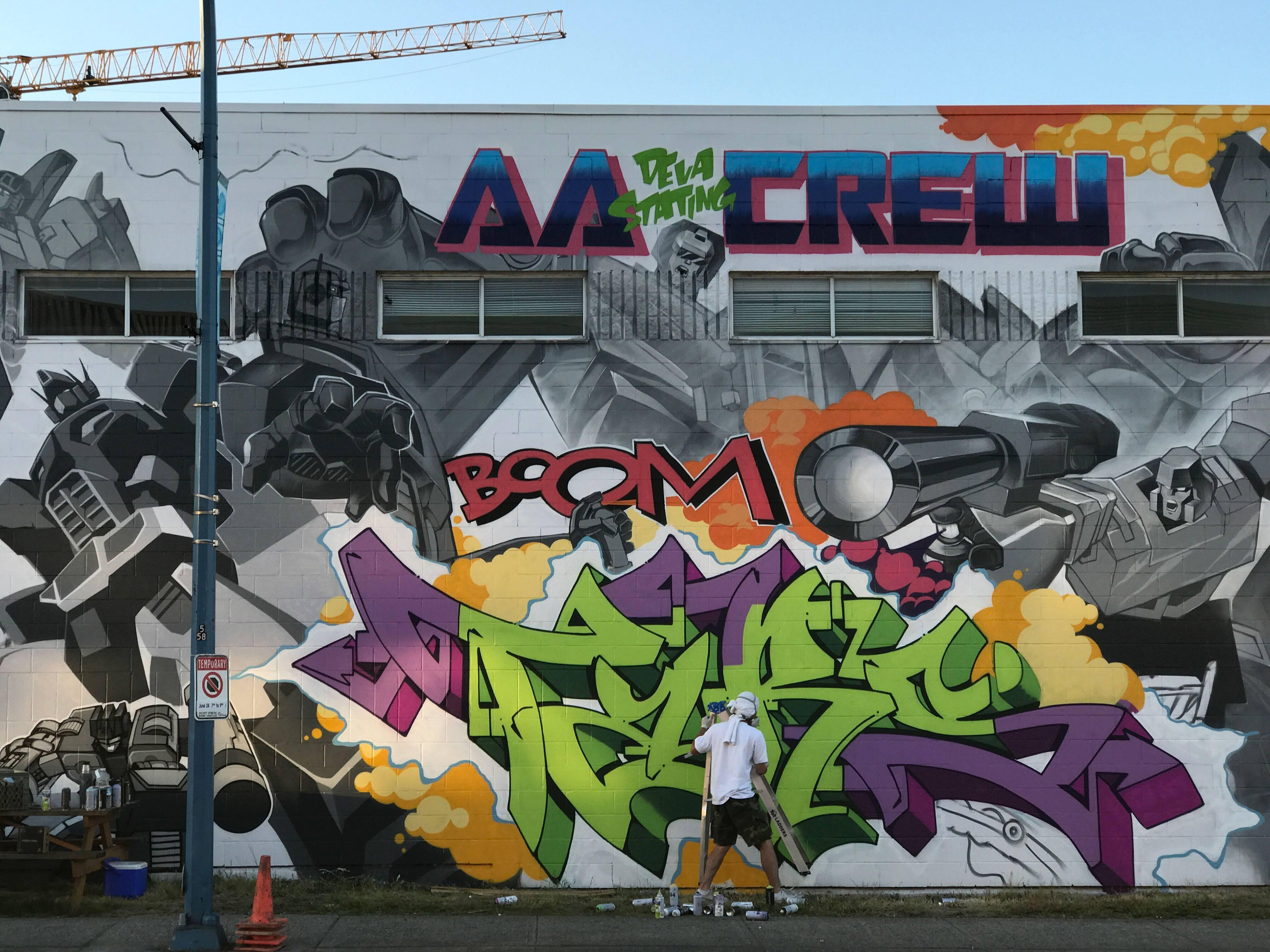 Mural vancouver mural festival
