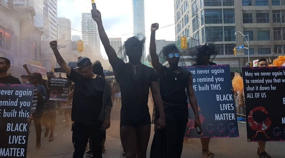 Black Lives Matter makes unexpected appearance at Toronto Pride Parade