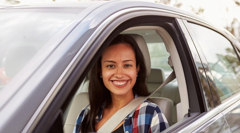 Girl driver shutterstock