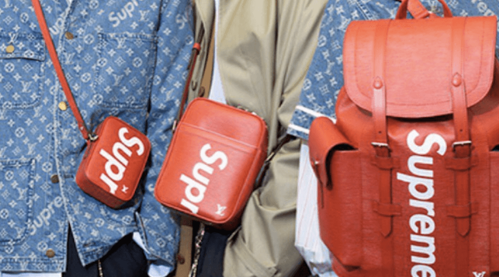 The Louis Vuitton X Supreme collab will drop in Vancouver in July