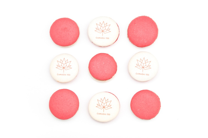 Bon Macaron 2017 Canada Day Macaron