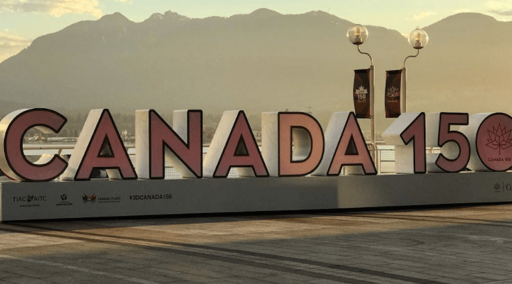 This giant 'Canada 150' sign is Vancouver's newest Instagram hotspot