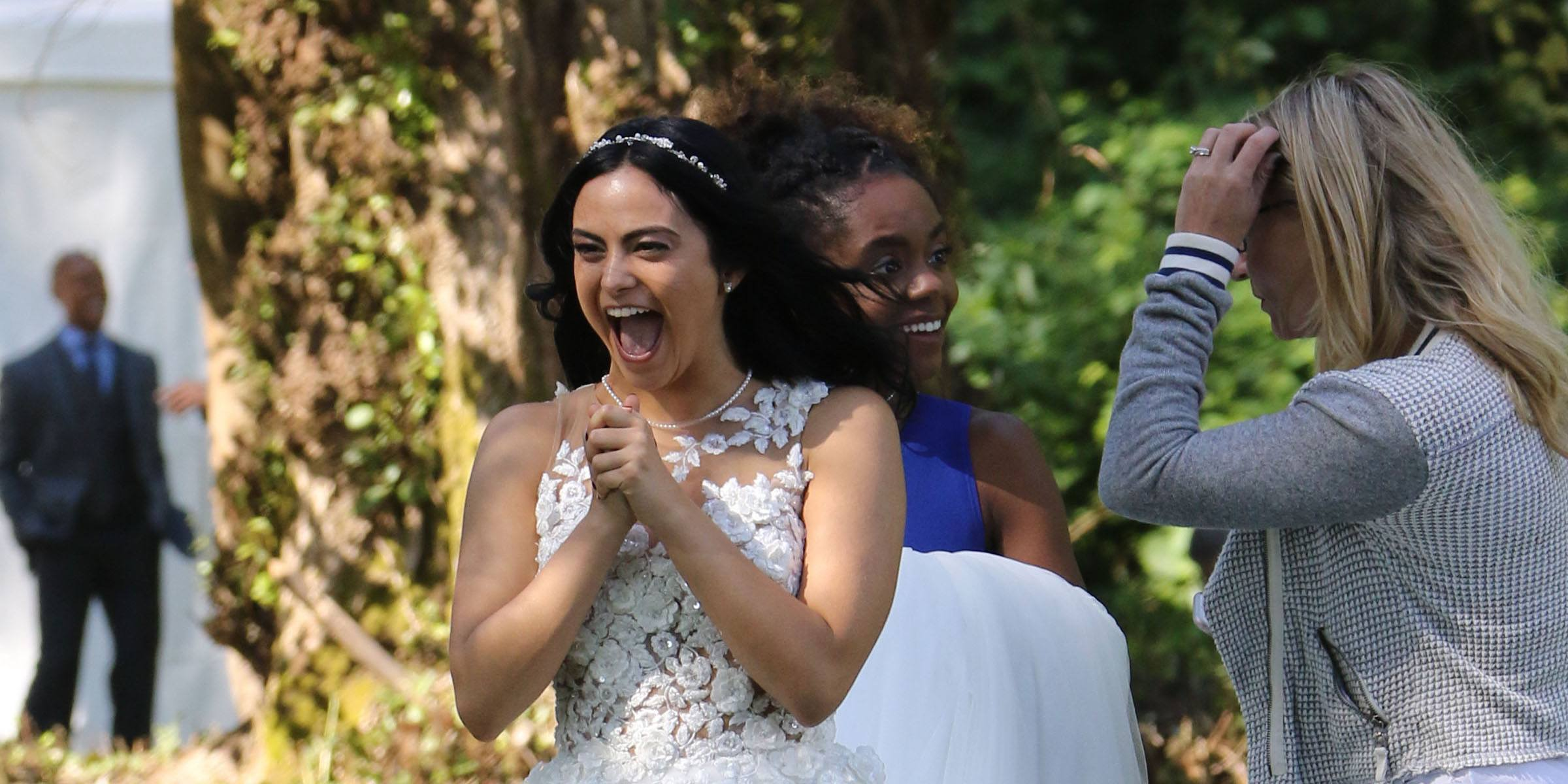 'Riverdale' films wedding scene at Barnet Marine Park (PHOTOS)