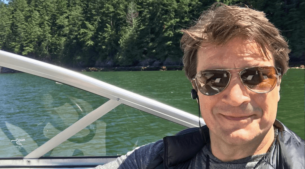 Nathan Fillion is in Vancouver and he's loving it (PHOTOS)