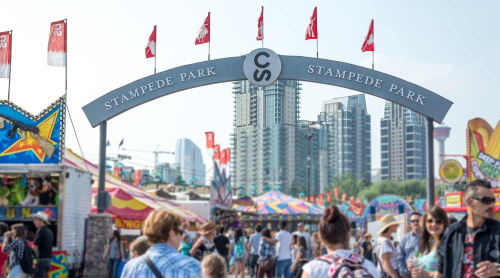 Calgary stampede entrance shutterstock