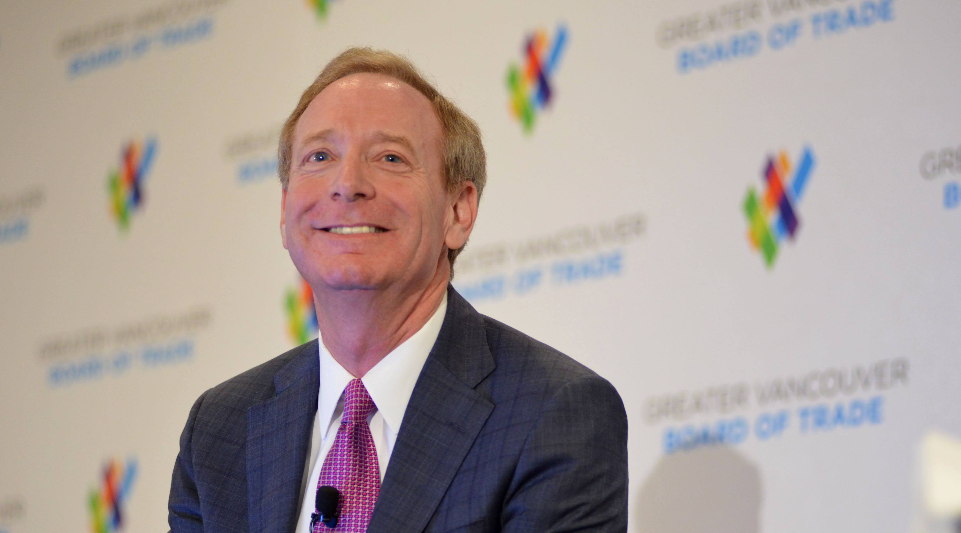 Microsoft President Brad Smith: Mixed reality is Vancouver's 'big bet'