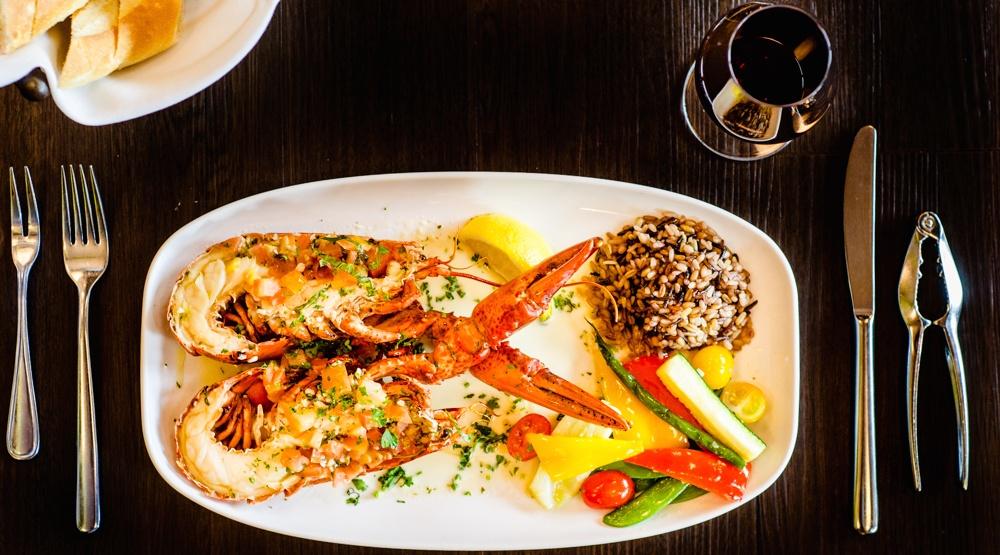 Provence marinaside lobster