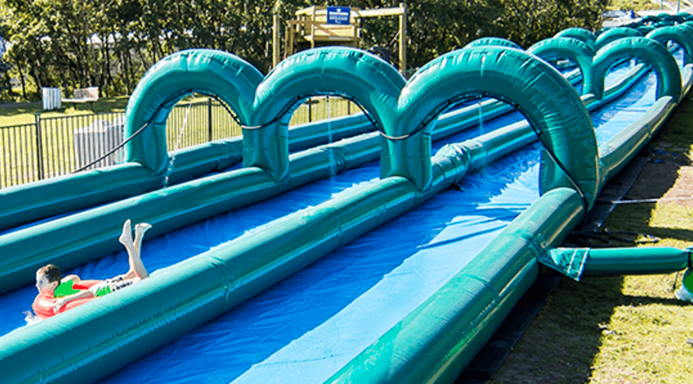 A massive 810-foot slip-n-slide is coming to WinSport this summer (VIDEO)