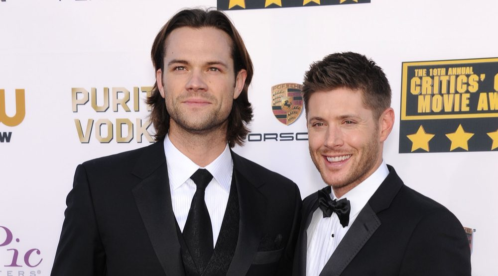 Jared Padalecki & Jensen Ackles arrives to the Critics' Choice Movie Awards 2014 on January 16, 2014 in Santa Monica, CA (DFree/Shutterstock)
