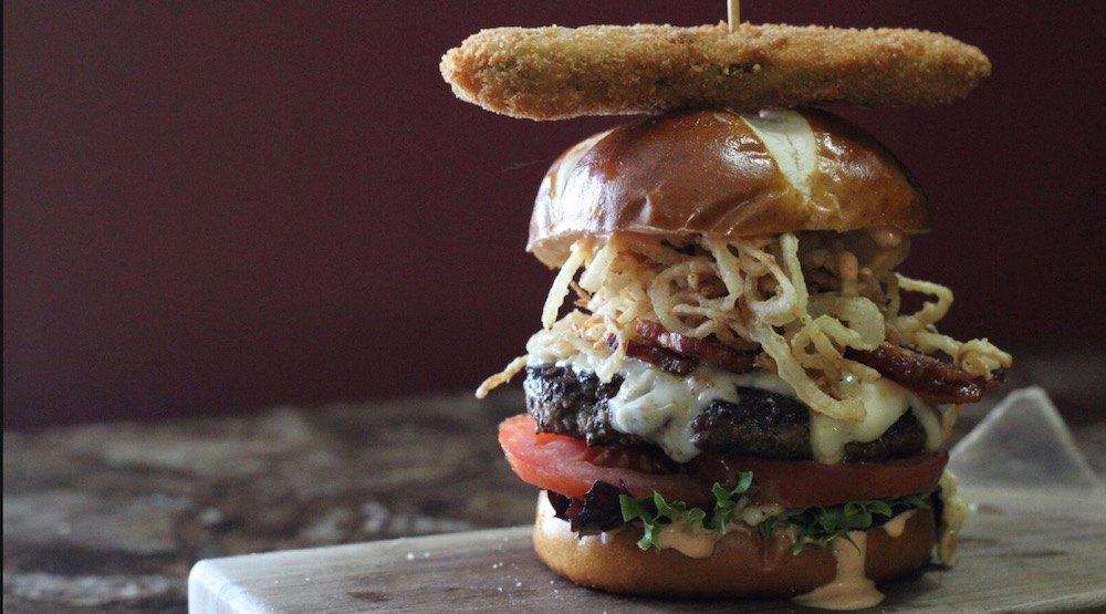 This Bridgeland pub serves one of the biggest burgers in Calgary