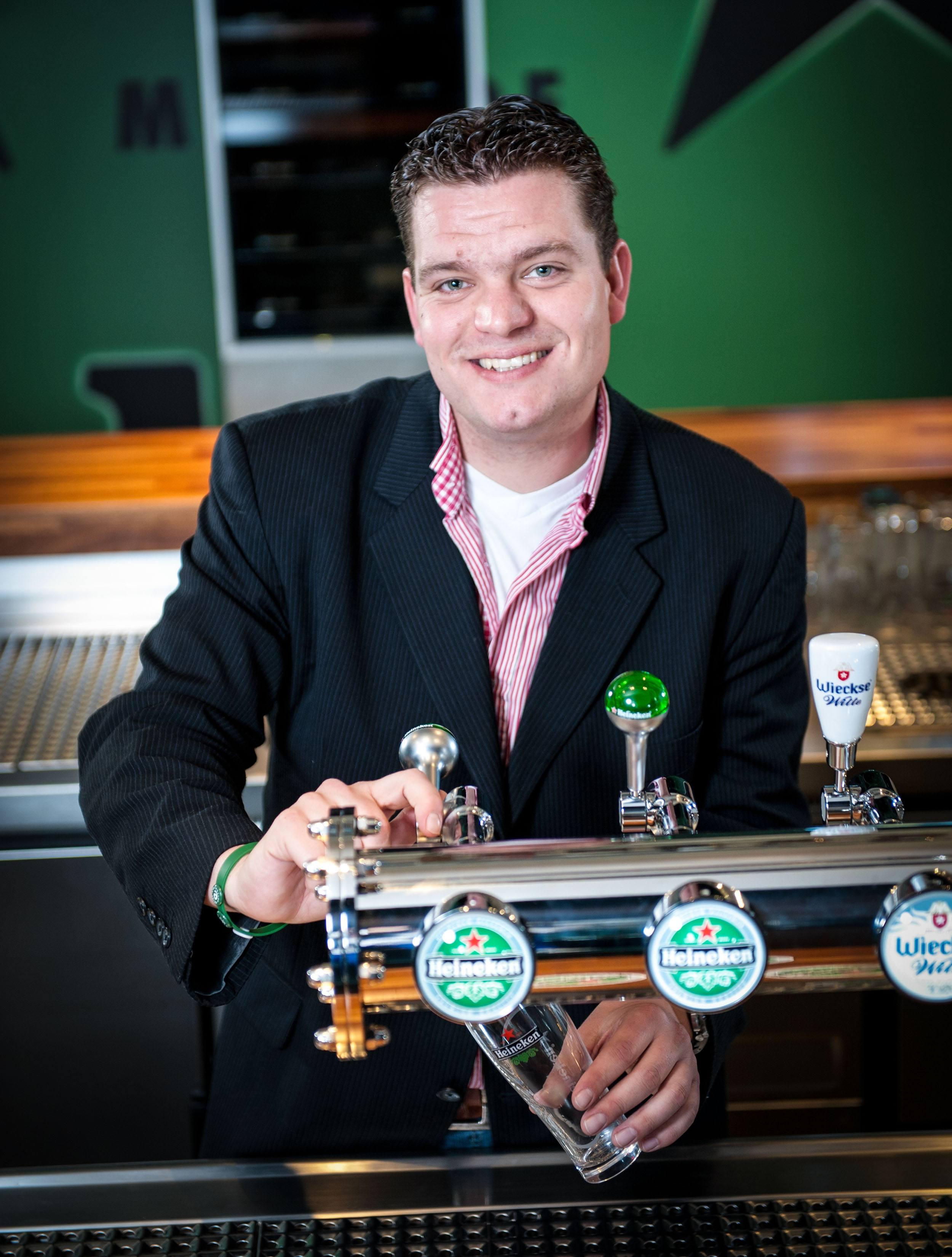 Heineken Global Draft Master Laurens Ravens (Heineken)