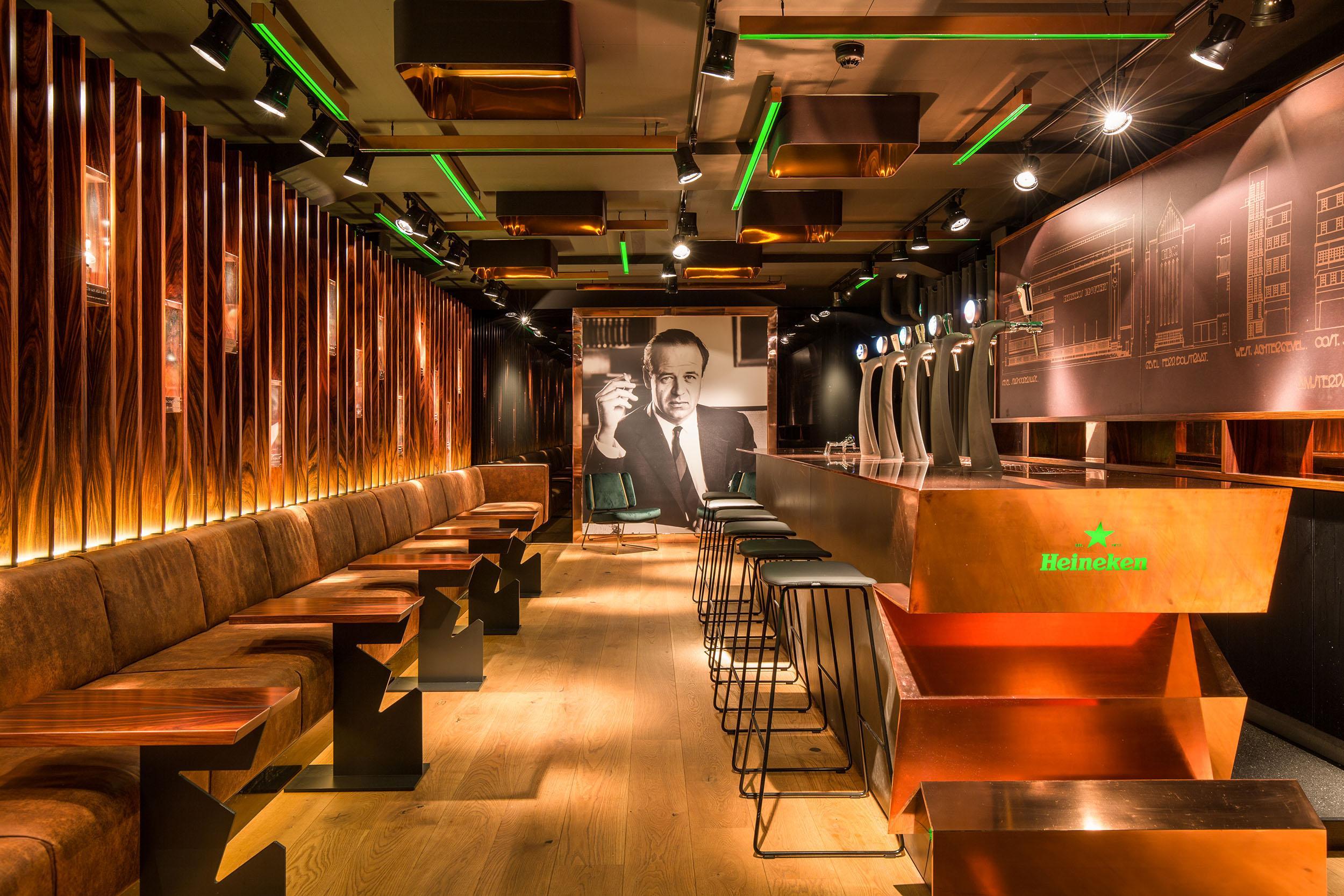 Freddy's VIP Bar at the Heineken Experience in Amsterdam (©Twycer/Heineken)
