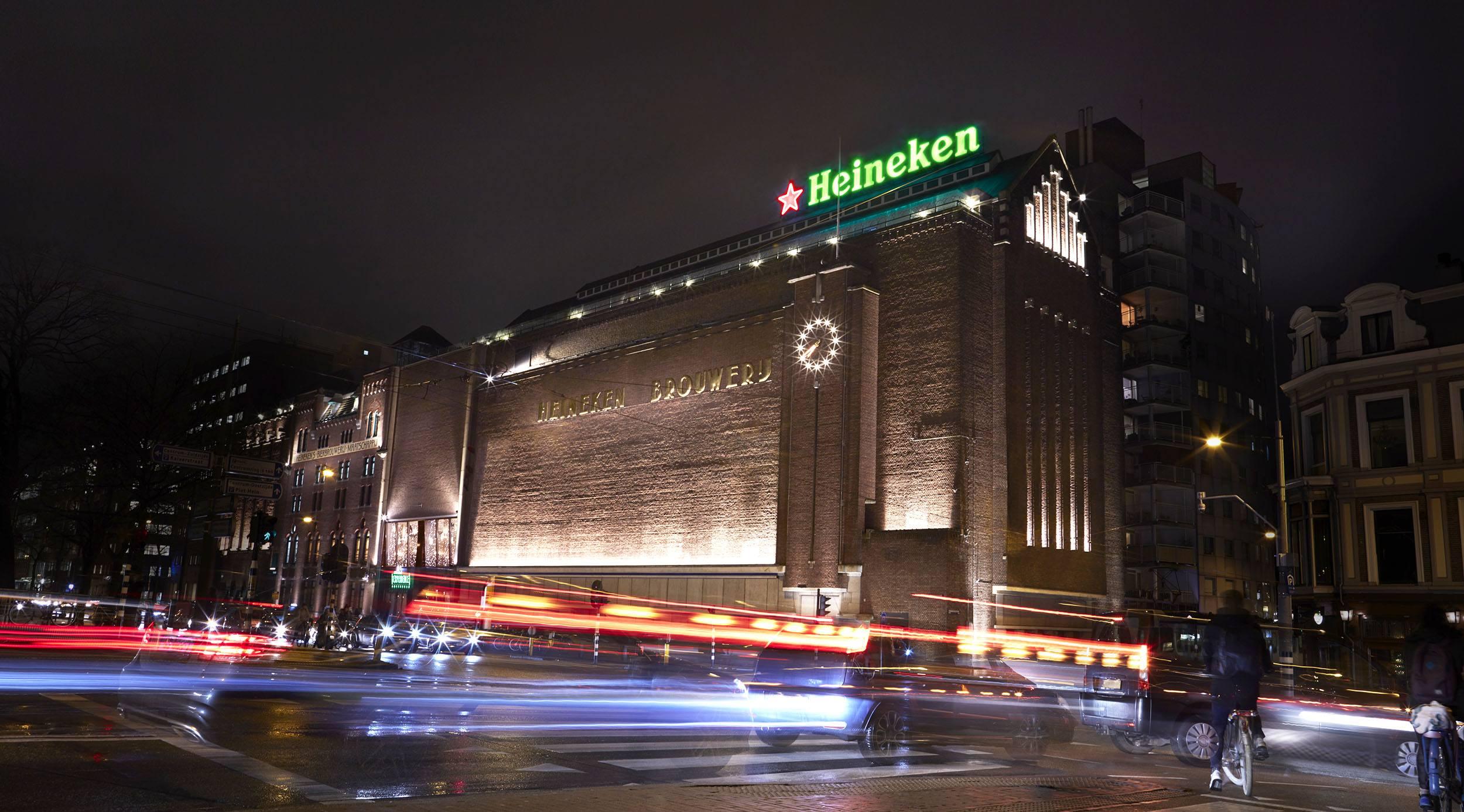 The Heineken Experience, original site of the Heineken brewery in Amsterdam (Heineken)