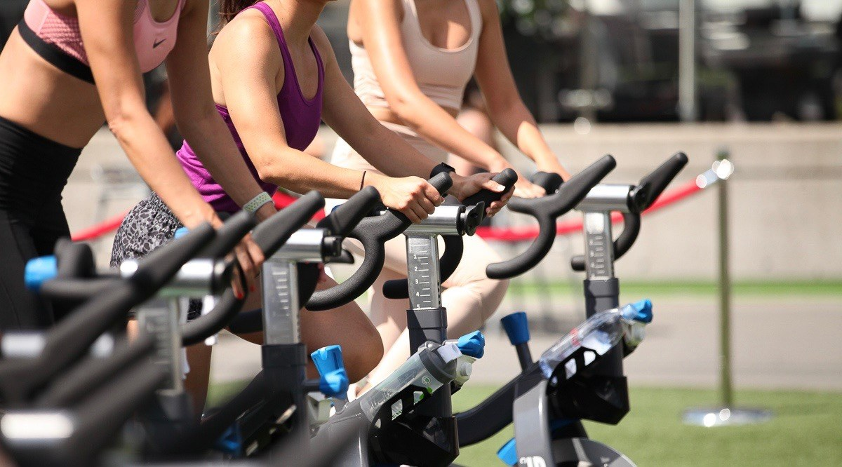 You can now take outdoor group cycle and yoga classes in Toronto