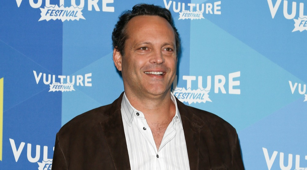 """Actor Vince Vaughn attends the 'Tim Ferris and Vince Vaughn: In Conversation"""" during the 2017 Vulture Festival at Milk Studios on May 20, 2017 in New York City."""