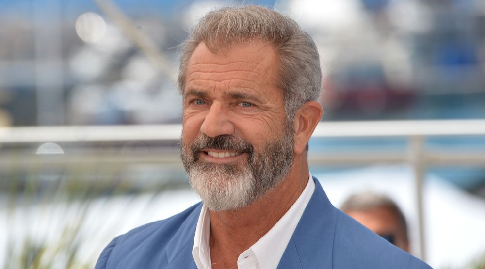 """MAY 21, 2016: Actor Mel Gibson at the photocall for """"Blood Father"""" at the 69th Festival de Cannes."""