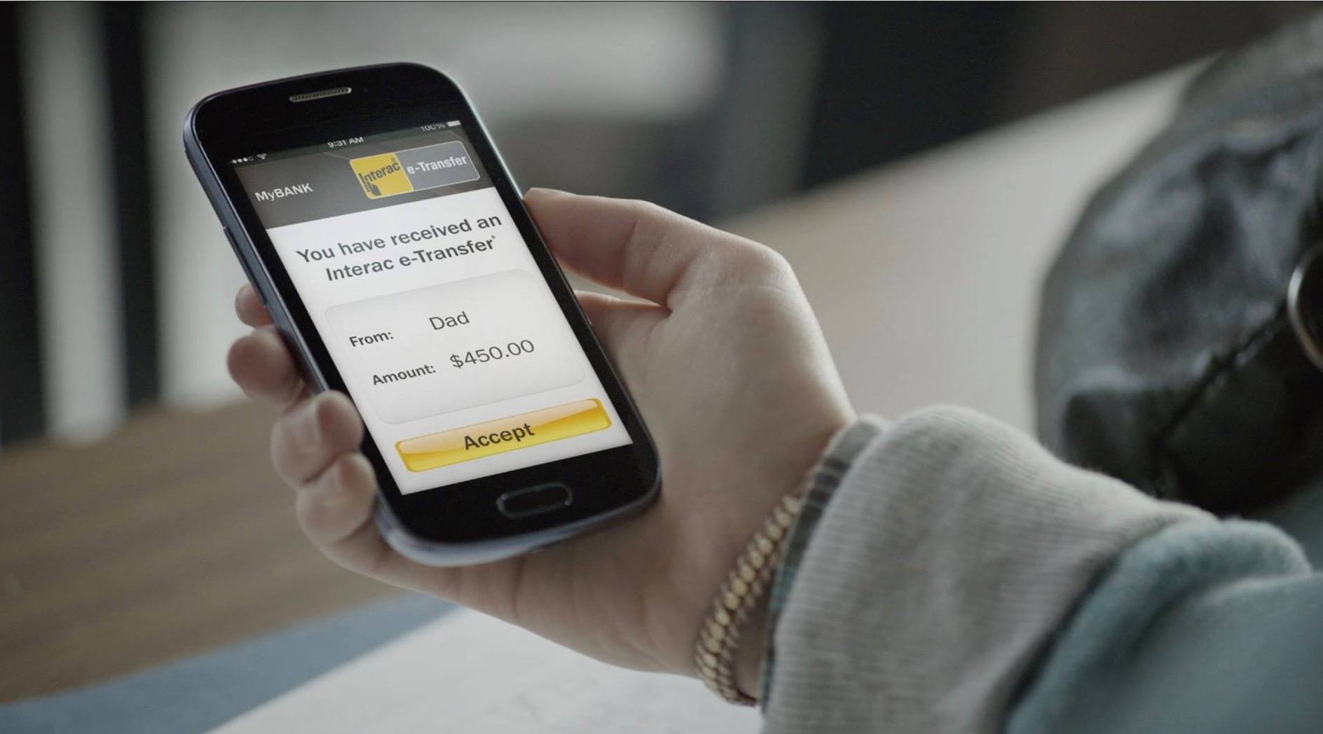 Interac's e-Transfer service is down Canada-wide right now