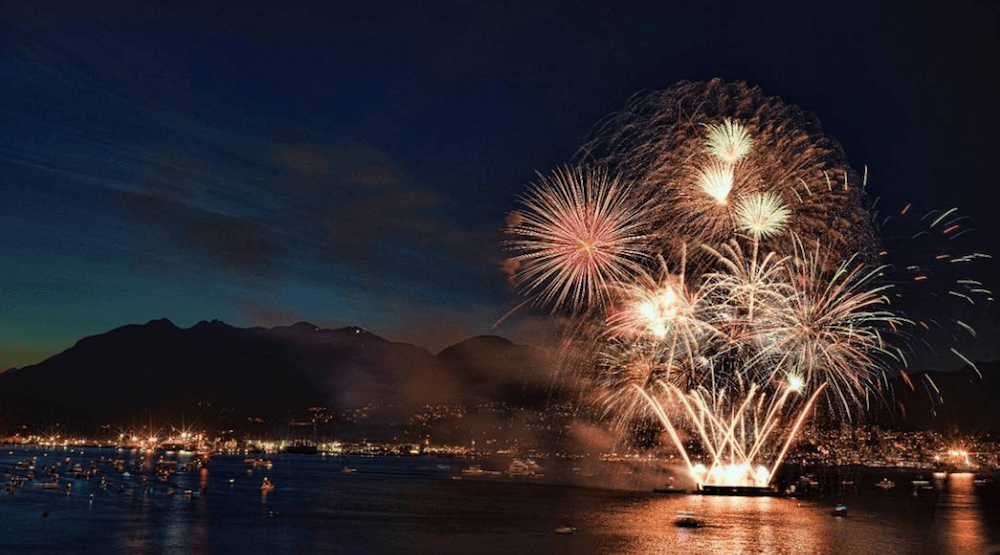 26 Photos and videos of Canada Day 150 fireworks in Vancouver (PHOTOS)