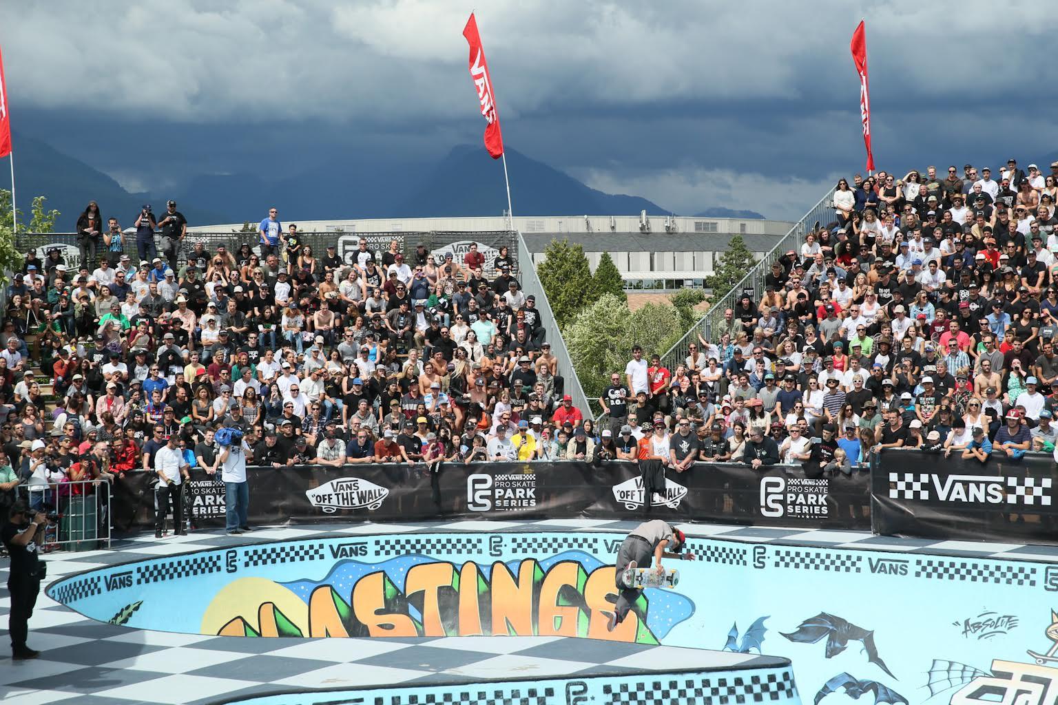 The Vans Park Series invades Hastings Skatepark this weekend